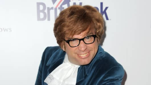 Richard Halpern, aka The Fake Austin Powers, attends BritWeek's 10th Anniversary VIP Reception & Gala at Fairmont Hotel on May 1, 2016 in Los Angeles, California.